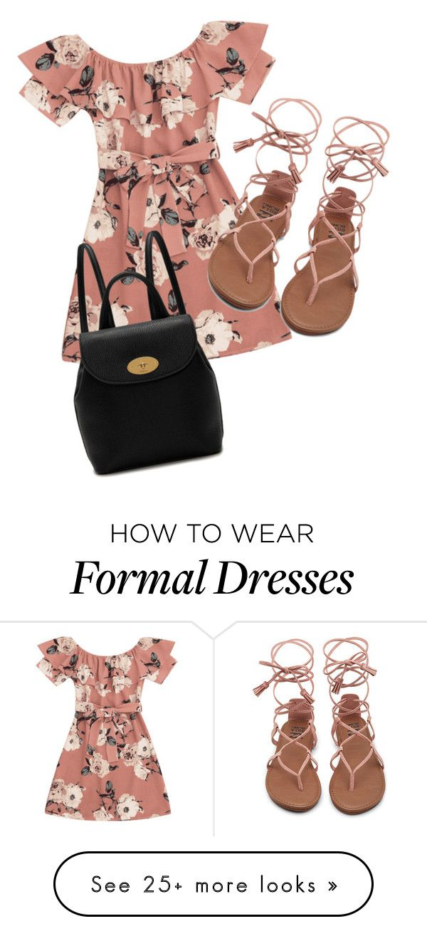 """Back To School: Formal and Floral"" by amandafashions on Polyvore featuring Mulberry"