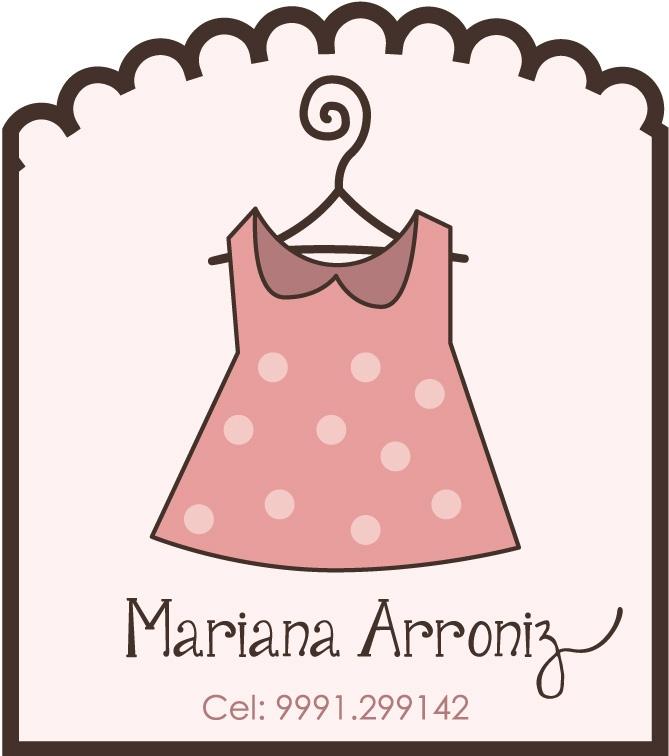 Logotipo de etiquetas para Diseño y Confeccion de Ropa para Niñas