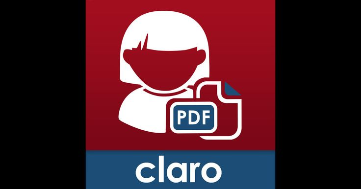 ClaroPDF Pro is an accessible, reading and study PDF tool for all. Annotate, mark up and save PDF files which are then still fully compatible with Adobe Reader and other popular PDF apps. Have accessible text PDF files read back to you with a human quality voice & synchronised highlighting.