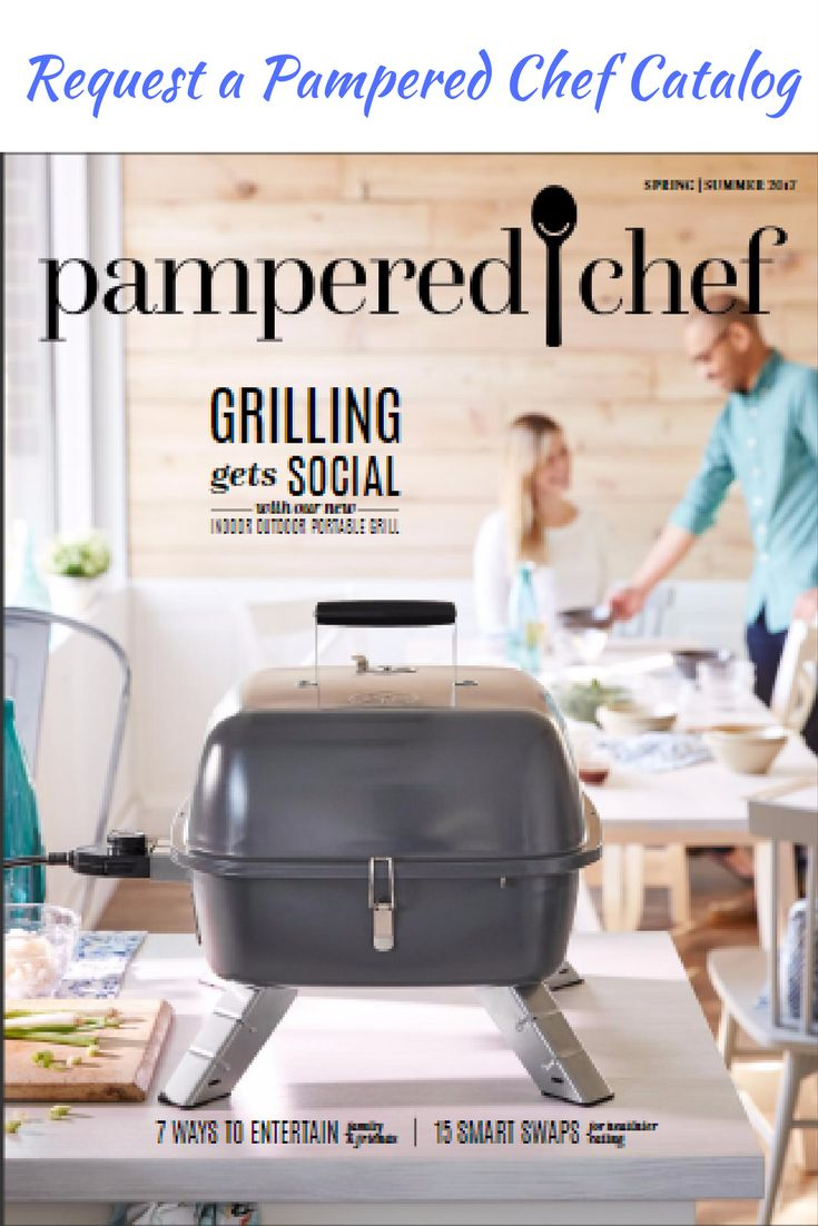 Request a Pampered Chef catalog - mailed to you right away.