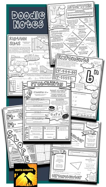 """Benefits of """"Doodle Notes"""" include increased focus, memory, learning, retention, an even relaxation..."""