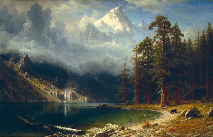 """Albert Bierstadt, """"Mount Corcoran"""", The Bridgeman Art Library"""