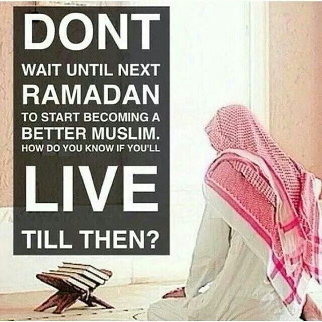 Ramadan: Do you think I should do this?