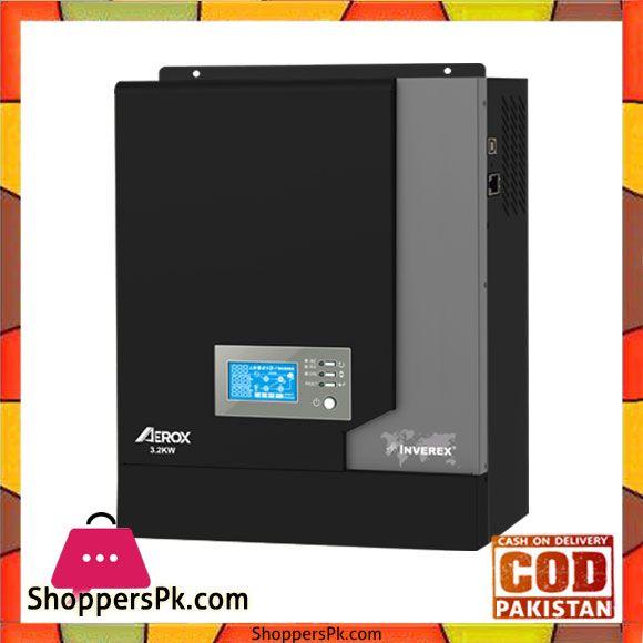 Buy Inverex Aerox 3 2 Kw Solar Inverter Karachi Only At Best Price In Pakistan Solar Inverter Solar Off Grid Inverter
