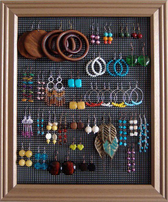 Urobte si vlastný organizér na šperky a bižutériu – máme pre vás tipy, ako kreatívne môže vyzerať! | Moda.sk