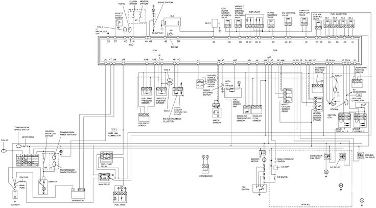 Ecu Wiring Diagram 2002 Png  1540 U00d7852