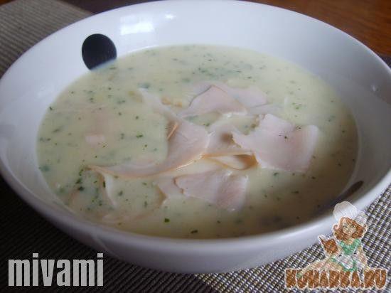 Рецепт: Крем-Суп из спаржи (Spargelcremesuppe)