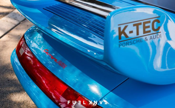 Take The Blue Pill: K-Tec Autohaus Porsche 911 993 RSR Replica — Fuel Tank
