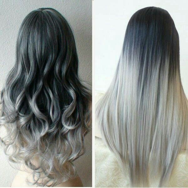 Hair of color