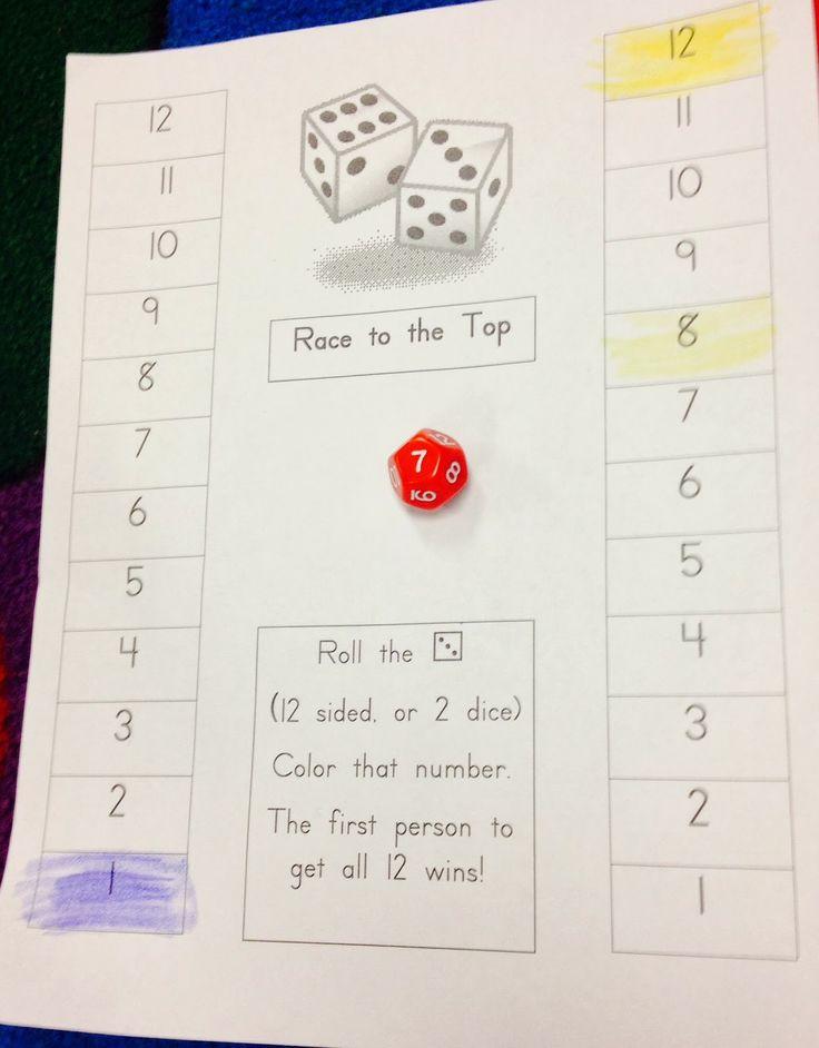 Number sense math activities on ten frames worksheets for first grade