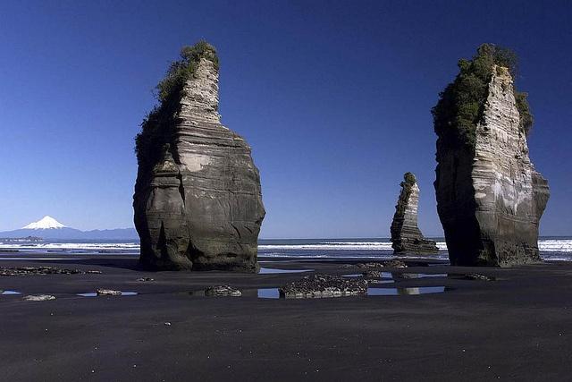 Three Sisters, North Taranaki <3