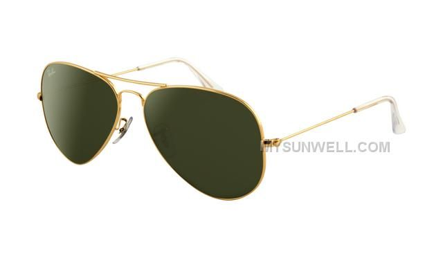 Buy Ray Ban Aviator Sunglasses Gold Frame Crystal Light Green Discount from  Reliable Ray Ban Aviator Sunglasses Gold Frame Crystal Light Green Discount  ...