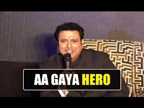 AA GAYA HERO trailer launch | Govinda's new movie 2017.
