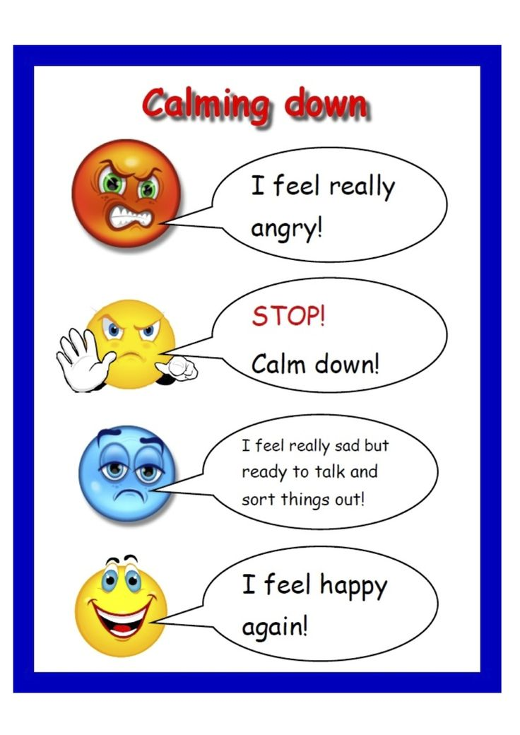 A Visual Guide To Different Types Of Cookies Infograph: Calming Down. Routine Charts Encourage Children To Develop