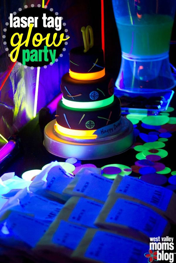 Laser Tag Birthday Party at Home | West Valley Moms Blog