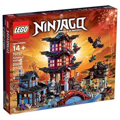 A new LEGO exclusive will be released later this year in September 2015! LEGO 70751 Temple of Airjitzu Ninjago  Early VIP Access where you can purchase the set in advance will begin on August 18th, 2015.