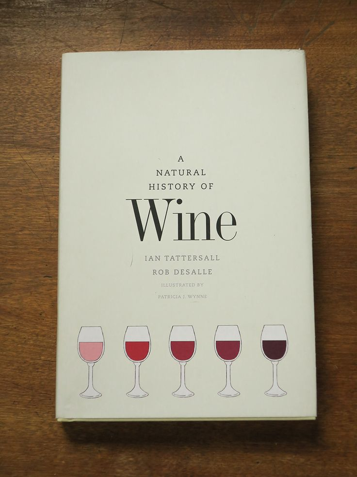 Natural History of Wine Book | Great Reads for Wine Geeks