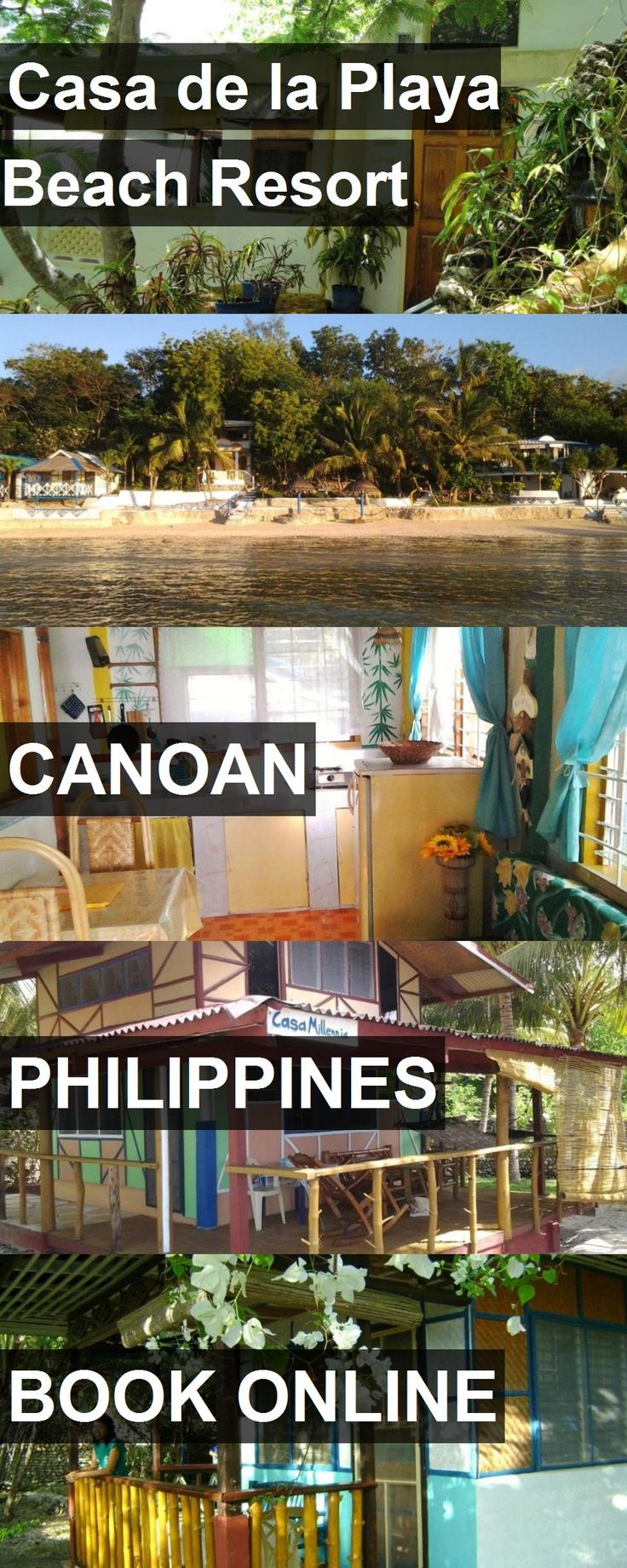 Hotel Casa de la Playa Beach Resort in Canoan, Philippines. For more information, photos, reviews and best prices please follow the link. #Philippines #Canoan #CasadelaPlayaBeachResort #hotel #travel #vacation