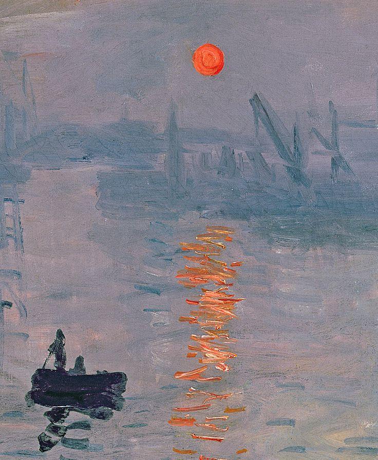 Monet Impression au soleil levant