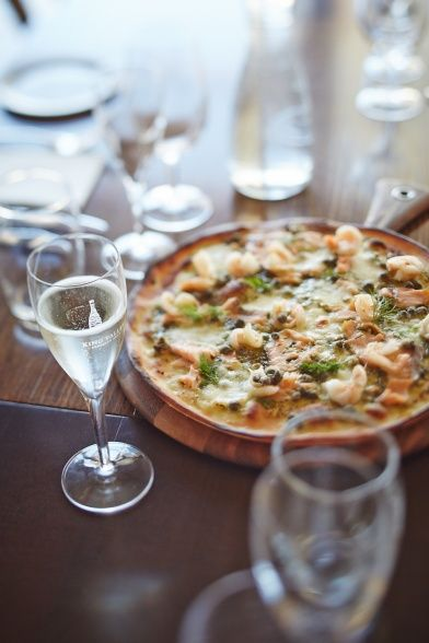 Pizza and Prosecco   by Ewen Bell