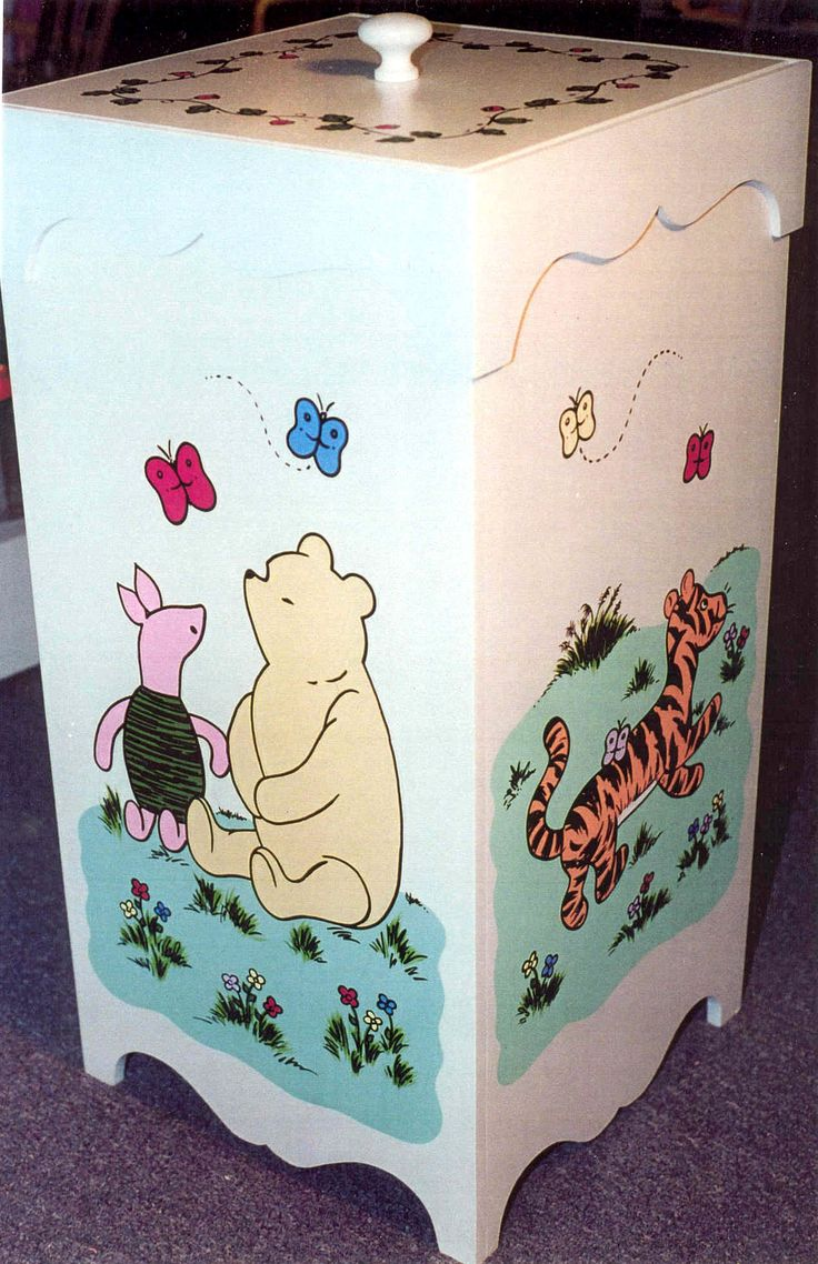 Classic winnie the pooh hamper for the baby on the way - Cute winnie the pooh baby furniture collection ...