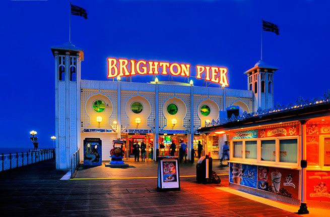 10 Reasons to Visit Brighton, U.K. The Brighton Pier