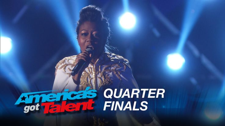"""Sharon Irving: Singer Performs Passionate Cover of """"Glory"""" from Selma - America's Got Talent 2015 - Season 10"""