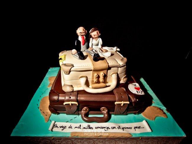 Una tarta o una maleta?