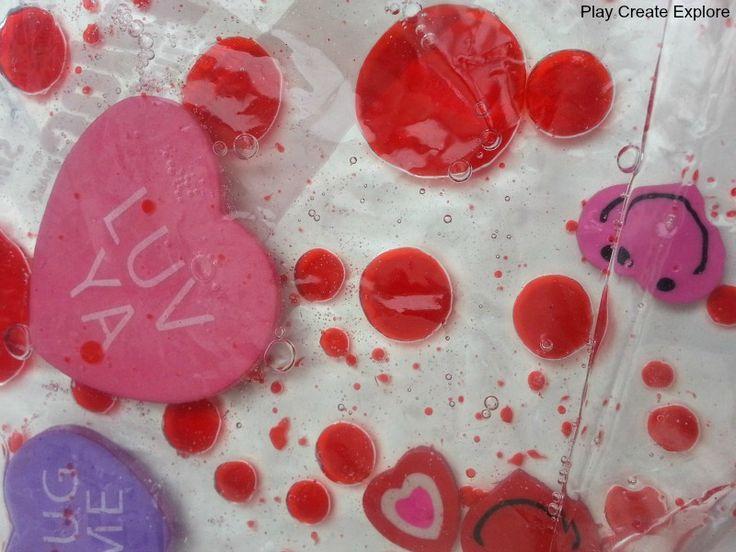Play Create Explore: Baby Oil Sensory Bags