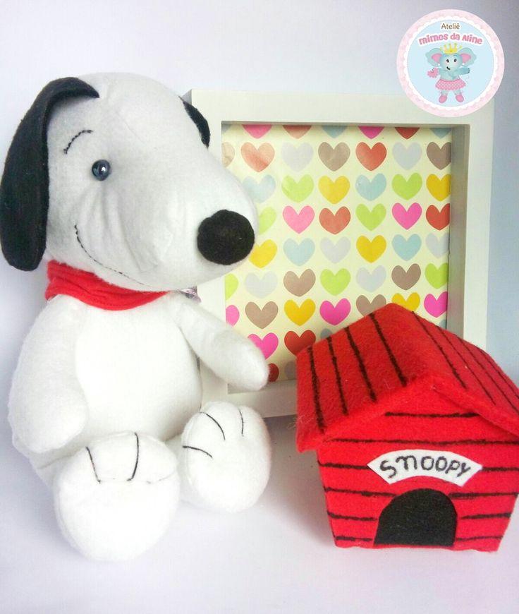 Snoopy em feltro. Moldes de Apostila do Snoopy Feltro aqui e acolá