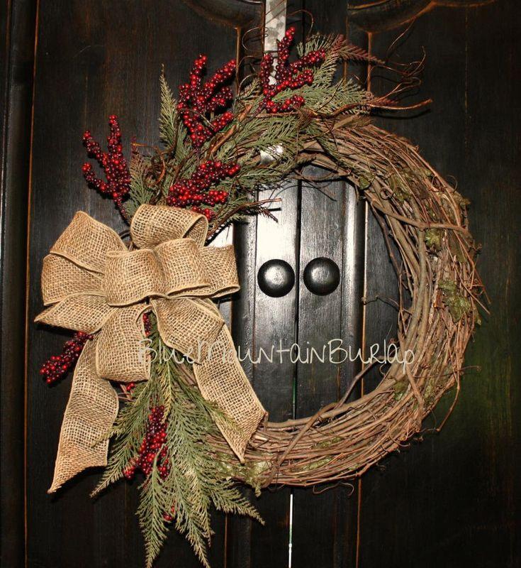 25 Best Ideas about Primitive Wreath on