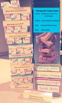 Printable Therapeutic Jenga Questions!