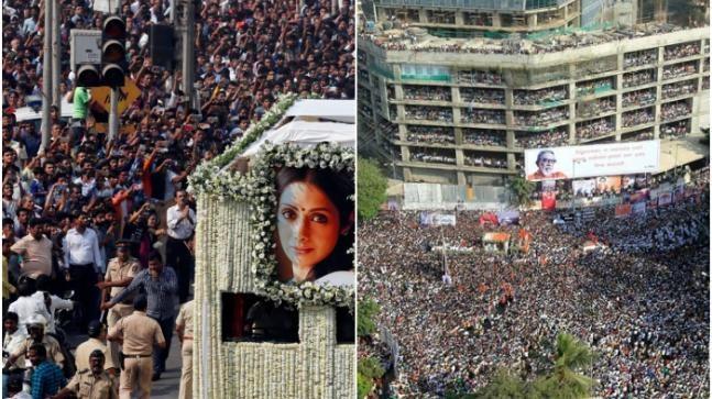 Sridevi to Bal Thackeray How Mumbai said goodbye to its icons - India Today #757LiveIN