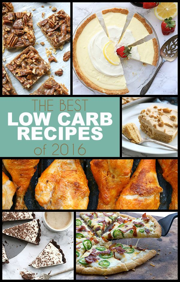 Best low carb and keto recipes of 2016. LCHF THM Banting Atkins recipes. via @dreamaboutfood