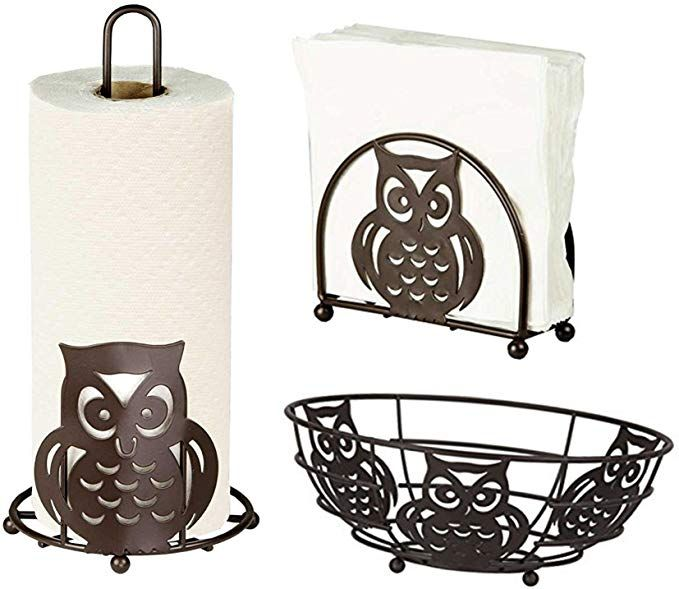 Amazon.com: Deluxe Owl Collection 3pc Kitchen Tabl…
