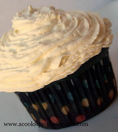 Amazing! Buttercream frosting without powdered sugar!