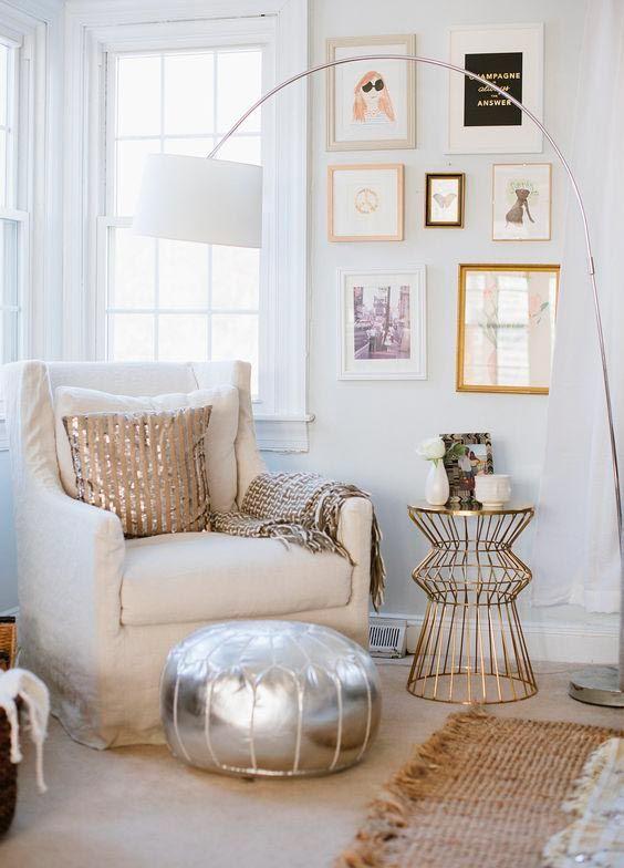 ⭐ #Navidad DECO en blanco y dorado | Vuelve tu #casa más entrañable y mágica con este binomio #decoración #interiorismo