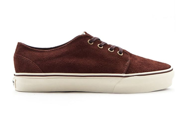 VANS 106 VULCANIZED BROWN SUEDE SIZE 3.5 36 TRAINERS OLD SKOOL AUTHENTIC SKATE 1