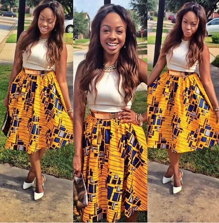 Howdy Ladies, Guess you are absolutely doing great over there. yes oooo, here are  collection of ankara skirt styles to make you  stand out your game in the  African fashion  around the world. Ankara Skirt short, Ankara Skirt long  and more of lovely  Ankara Skirt  styles designed by talented fashion designers in Nigeria and Africa …..Really just for you by dearies.  Style 001  Style 002  Style 003  Style 4  Style 5  Style 6  Style 7  Style 8  Style 9  Style 10  Style 11 Make your