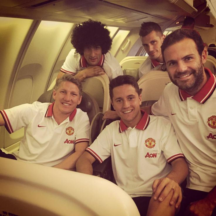 Manchester United go on their 2015 #USA tour; including their new signings Bastian Schweinsteiger and Morgan Schneiderlin. #MUtour @ManUtd