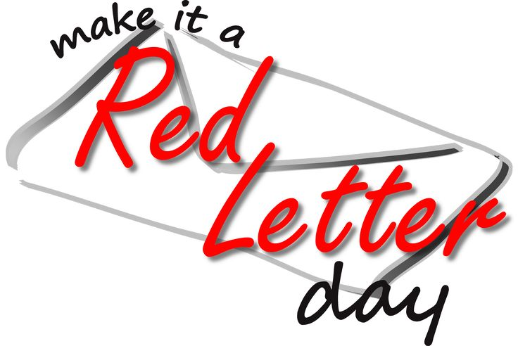 Make it a Red Letter Logo