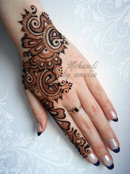 Mehndi Henna Black : Christmas mehndi designs amelia henna tattoos for