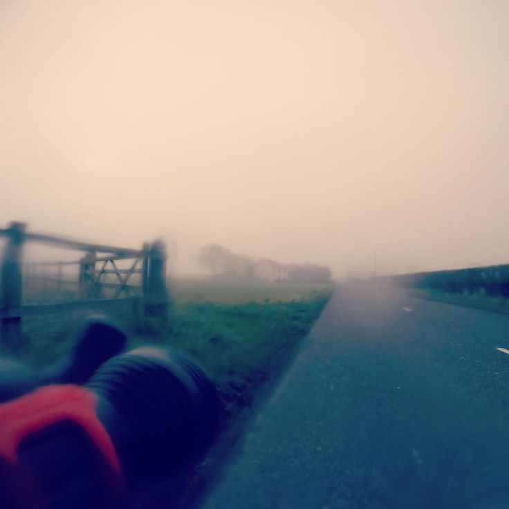 #misty #commute #cycling #croft #lanes enjoyable commute in the mist even if my specs kept steaming up! by grumpyfella68