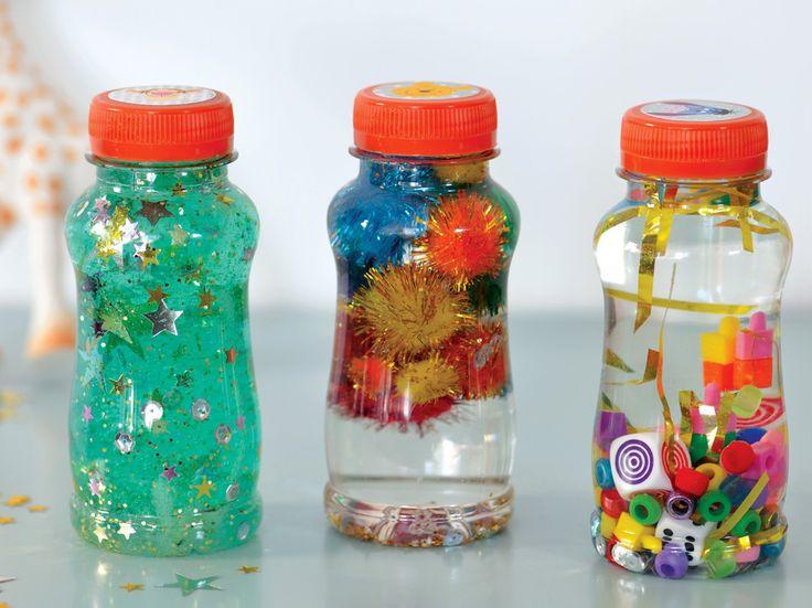 Atelier du mercredi : bouteilles magiques pour les petits!