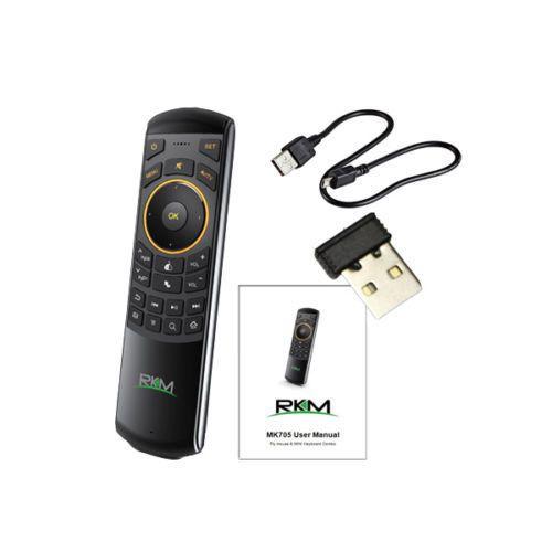 RKM Rikomagic MK705 Sensor Remote Fly air mouse wireless keyboard IR remote #RKM