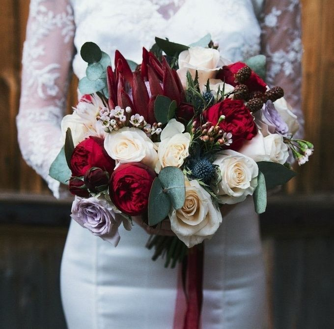 букет невесты с красной протей: 20 тыс изображений найдено в Яндекс.Картинках