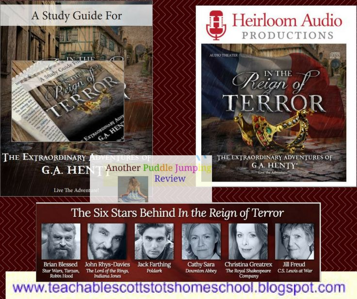 Review, #hsreviews #HeirloomAudio #InTheReignOfTerror #LiveTheAdventure #BringingHentyBack #AudioAdventures, audio drama, audio theatre, audio theater, radio drama, radio theatre, radio theater, audio book, G.A. Henty, In the Reign of Terror, henty alive, heirloom audio, Christian audio drama, Christian radio theatre, focus on the family radio theatre, homeschooling, Christian homeschooling, homeschooling curriculum, Adventures in Odyssey, Lamplighter Theatre, Jonathan Park, The Brinkman…