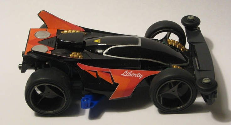 Liberty Emperor restored and restyled by Aran | Mini 4WD | #Mini4WD | #Tamiya