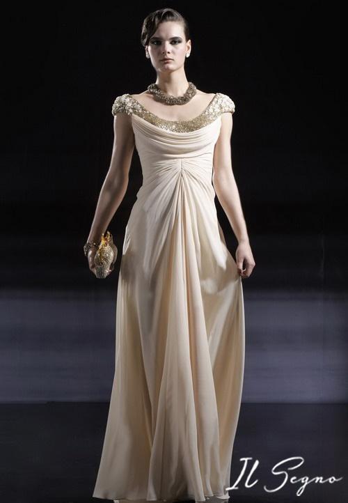 Rochie de seara ivory  http://ilsegno.ro/product-page/rochii-de-seara/rochii-de-seara-a-line/rochie-de-seara-sa37741/