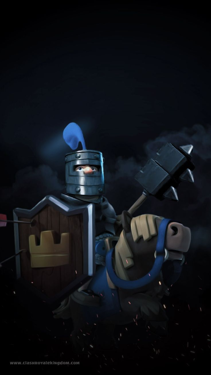 [The Dark Prince] -- Clash Royale Wallpaper